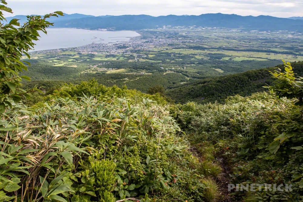 岩内岳 登山口 いわないリゾートパーク 岩内町 絶景 北海道