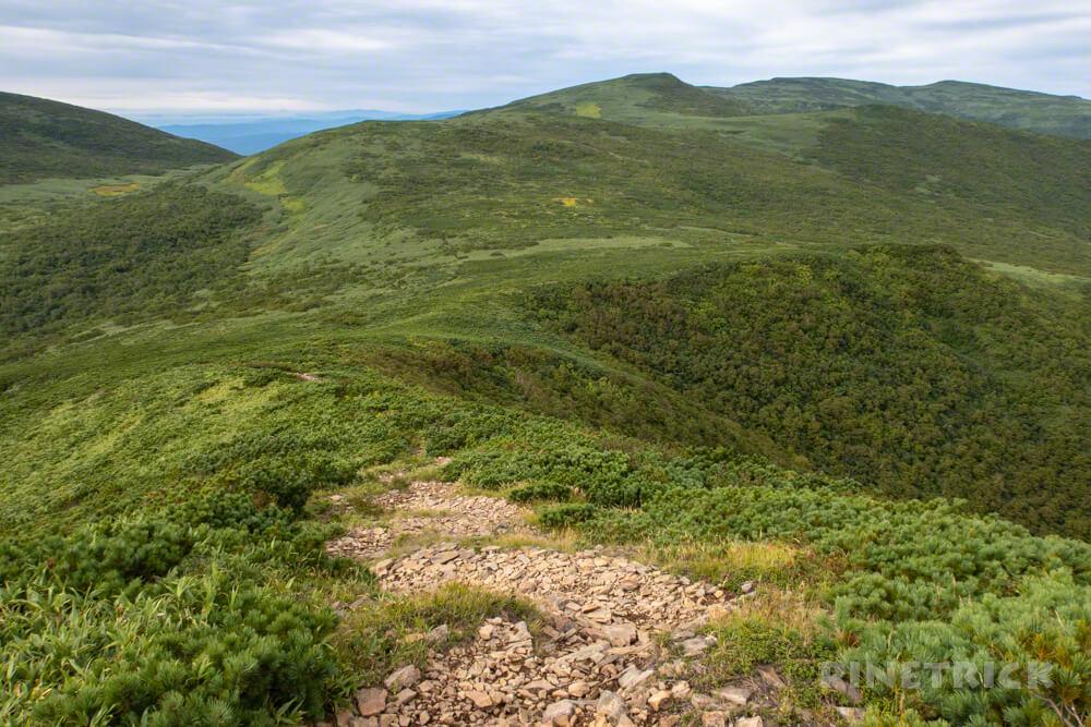 岩内岳 登山口 いわないリゾートパーク 山頂 絶景 北海道 雷電山