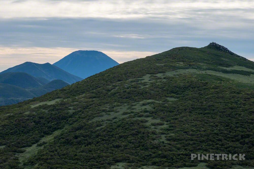 雷電山 目国内岳 羊蹄山 ニセコアンヌプリ 登山 北海道 ニセコ連山