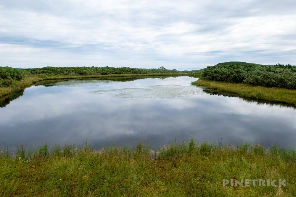 雷電山 五つ沼 いわないリゾートパーク 北海道 登山