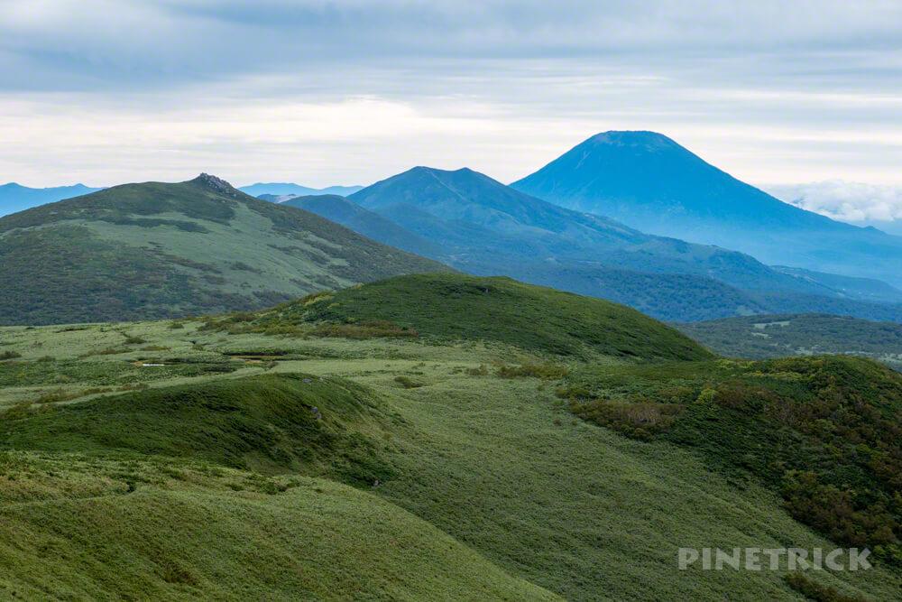 雷電山 登山 ニセコ連山 羊蹄山 北海道
