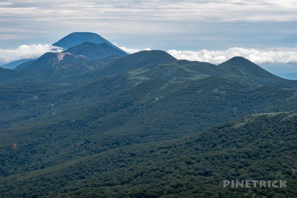 岩内岳 山頂 ニセコ連山 羊蹄山 北海道 絶景