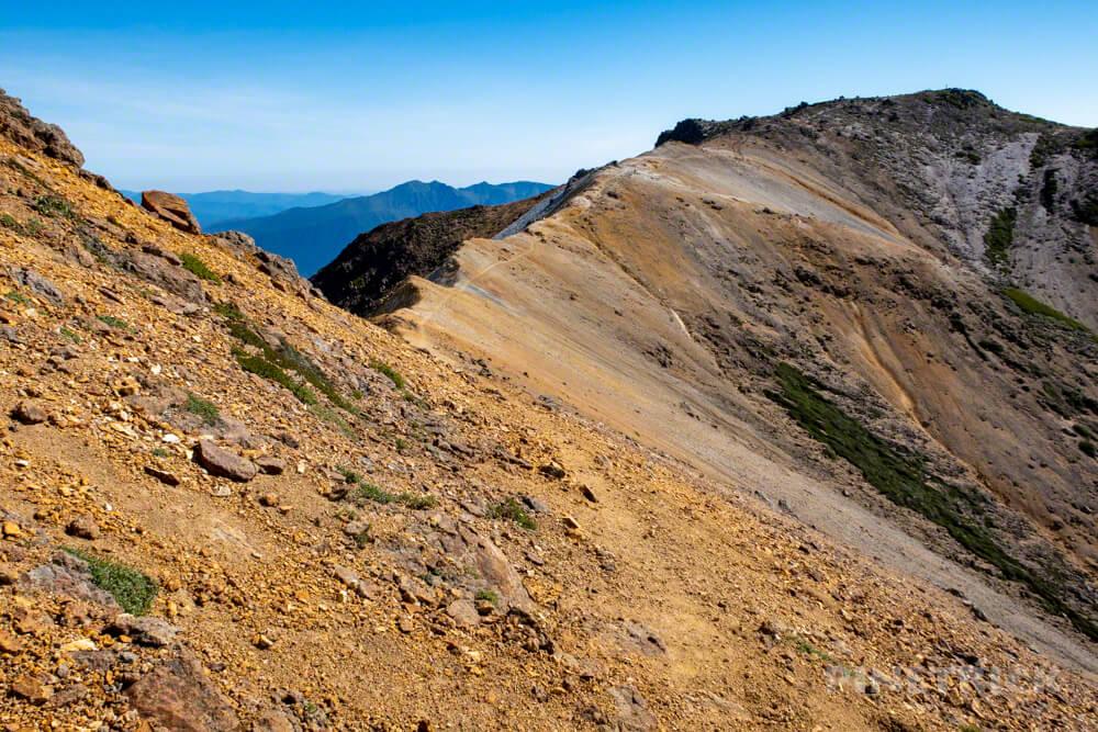 大雪山 愛別岳 愛山渓温泉 分岐 比布岳 北海道 登山