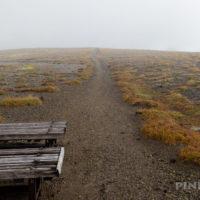 銀泉台 登山 駐車場 登山口 北海道 大雪山 白雲岳分岐 北海岳