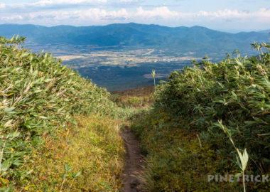 ニセコ 白樺山 シャクナゲ岳 登山 北海道 岩内町