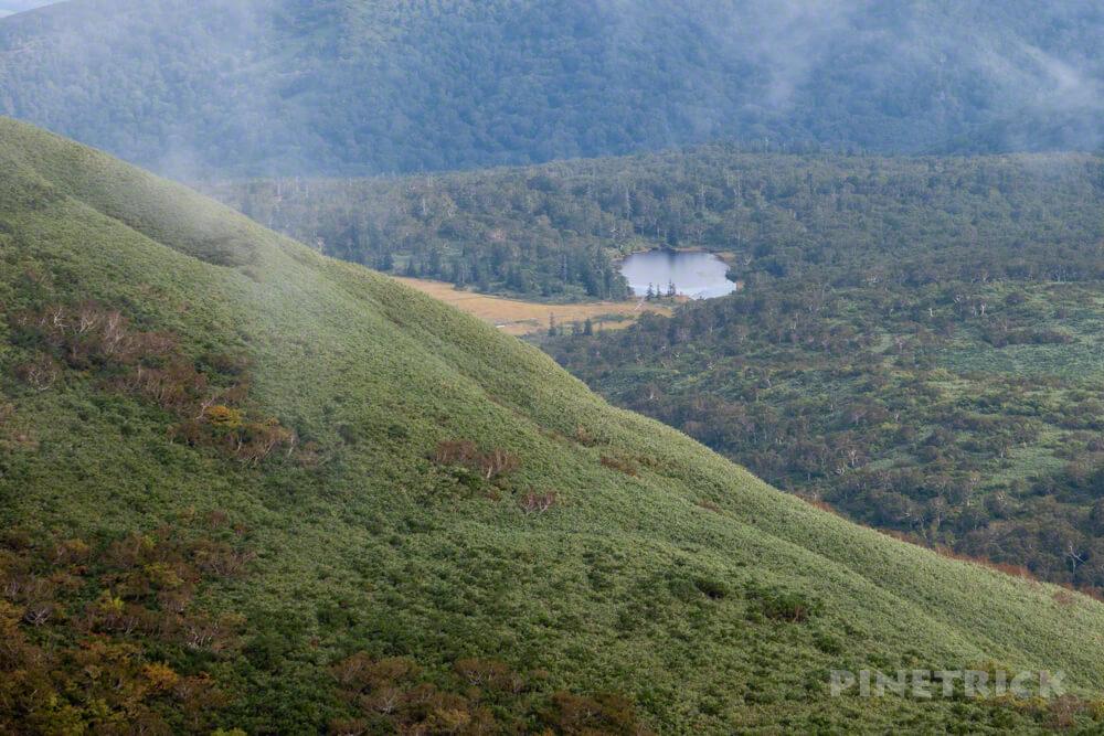 ニセコ シャクナゲ岳 登山 北海道 岩登り 神仙沼