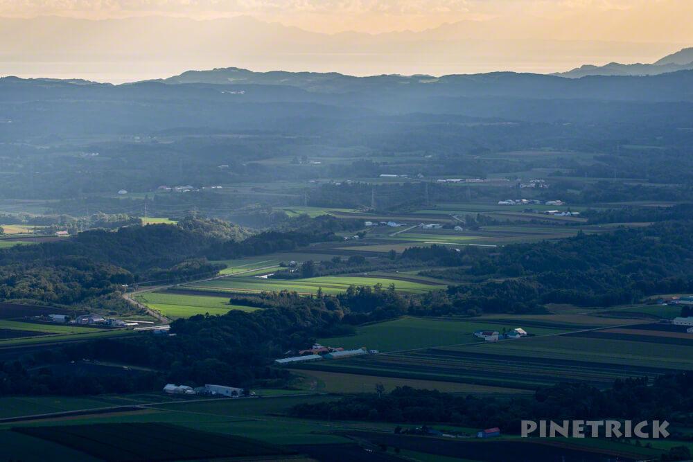 ニセコ 風景写真 スポットライト 天使の梯子