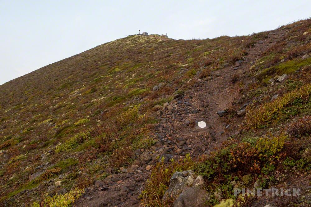 樽前山 ご来光 登山 北海道 西山
