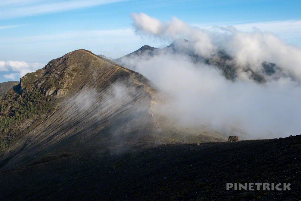 樽前山 932峰 風不死岳 ご来光 登山 朝日 北海道