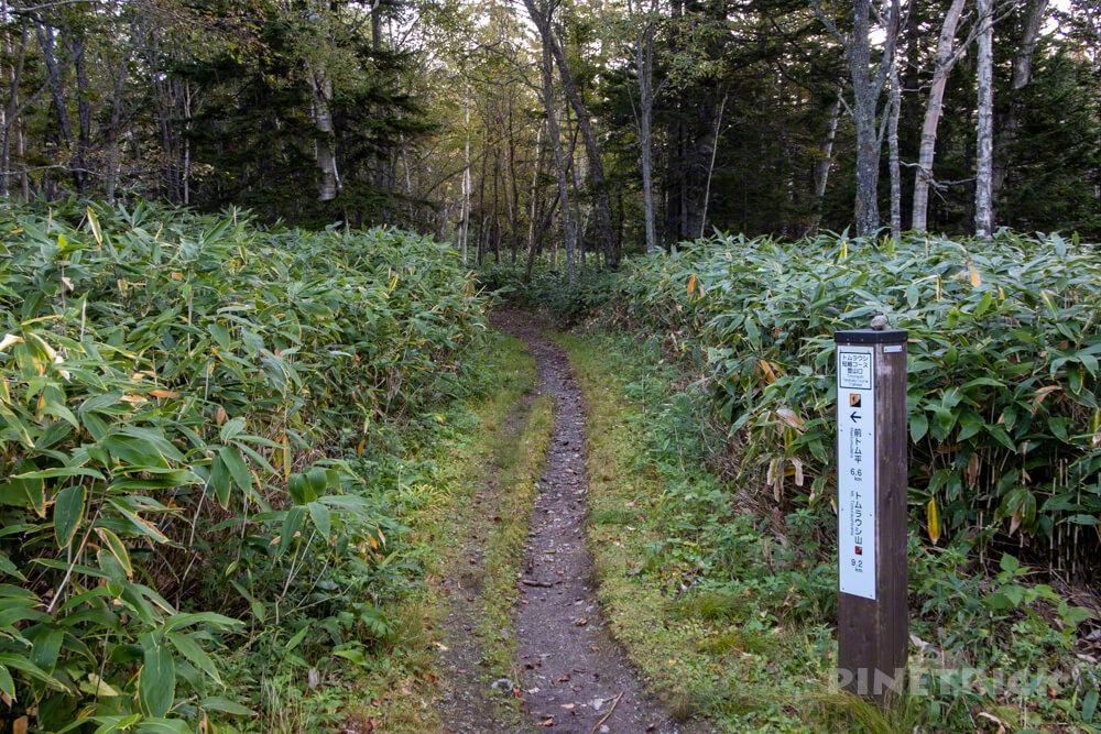トムラウシ山 大雪山 登山 短縮コース 北海道 登山口 駐車場