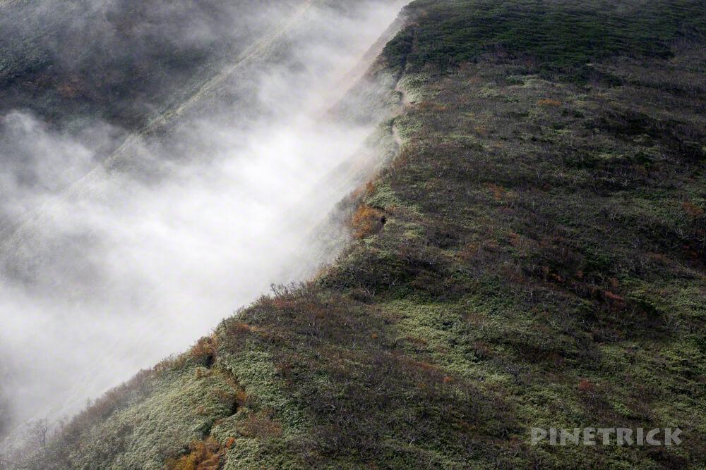 天塩岳 前天塩岳 登山 雪 山頂 旧道コース 北海道