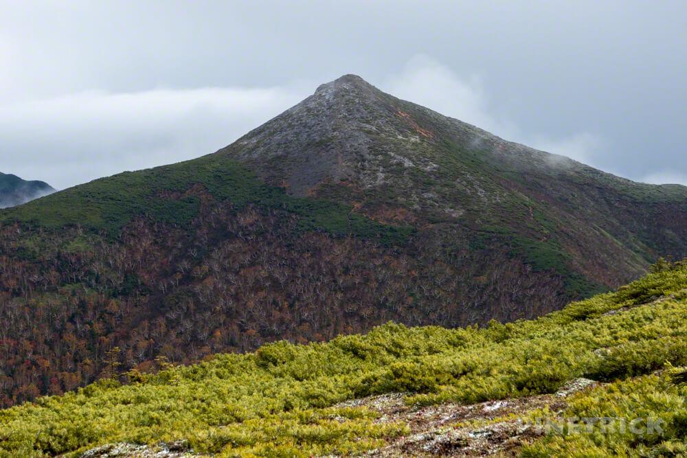 天塩岳 前天塩岳 登山 雪 紅葉 北海道旧道コース