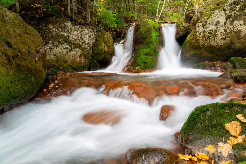 層雲峡温泉 紅葉谷散策路 北海道 観光スポット おすすめ 滝