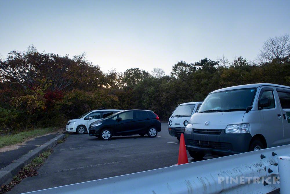 苔の回廊 楓沢 モラップ駐車場 行き方