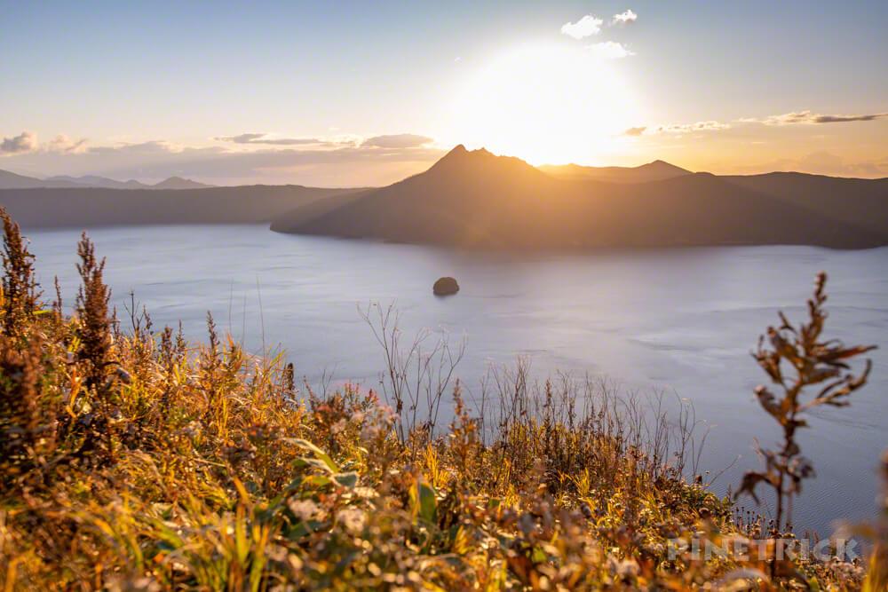 摩周湖 第3展望台 日の出 摩周岳 撮影スポット