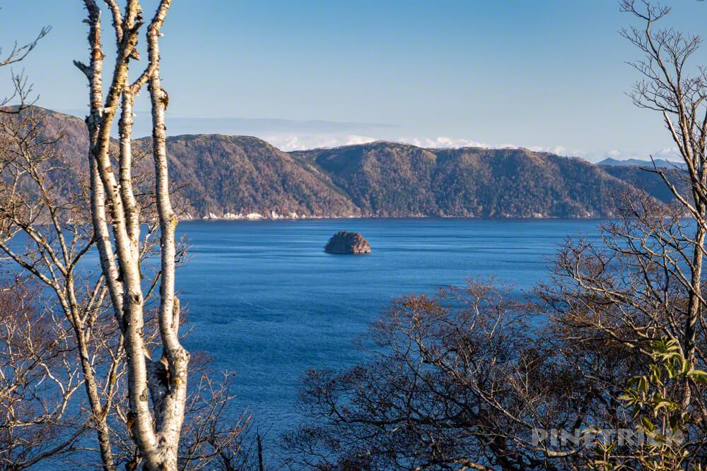 摩周岳 摩周湖 登山 北海道 第一展望台 中島 カムイシュ島