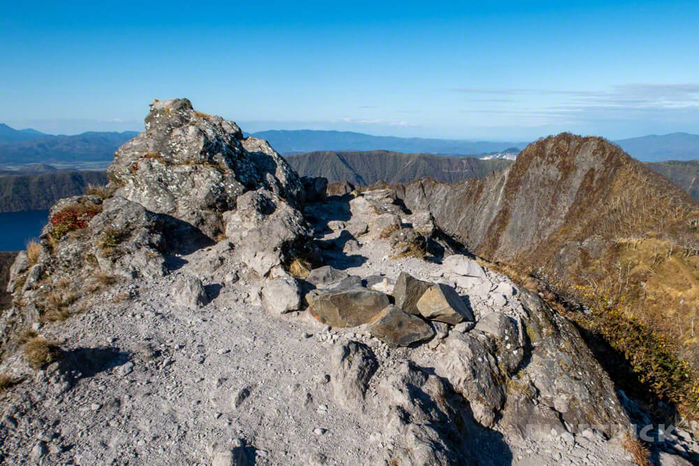 摩周岳 摩周湖 登山 北海道 第一展望台 山頂