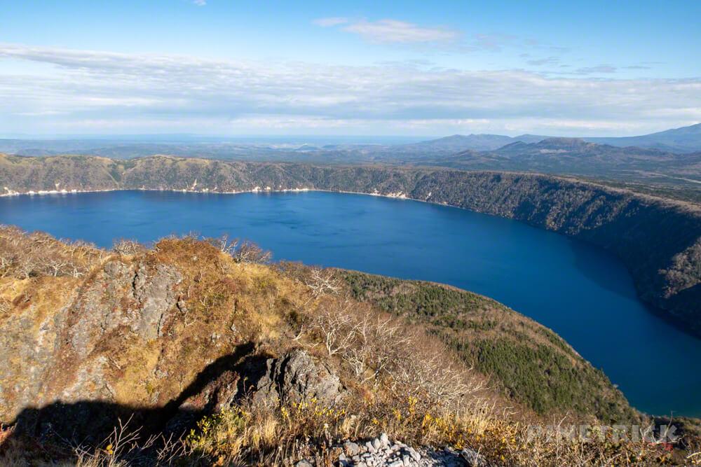 摩周岳 摩周湖 登山 北海道 第一展望台 山頂 お釜 カルデラ