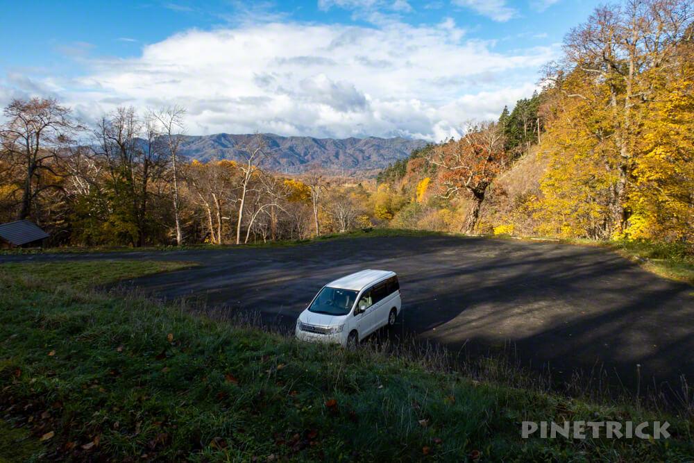 神居尻山 Bコース 駐車場 登山 北海道 道民の森