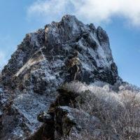 恵庭岳 山頂 北海道 登山 雪