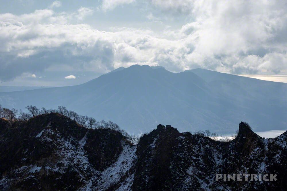 恵庭岳 登山 北海道 支笏湖 第二展望台 風不死岳