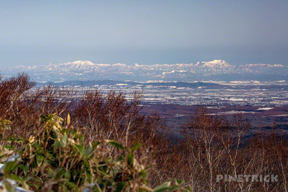 イチャンコッペ山 登山 北海道 夕張山地 芦別岳 夕張岳