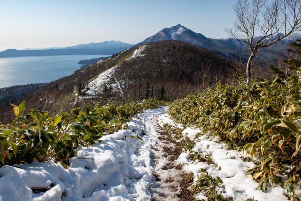 イチャンコッペ山 登山 北海道 稜線 恵庭岳