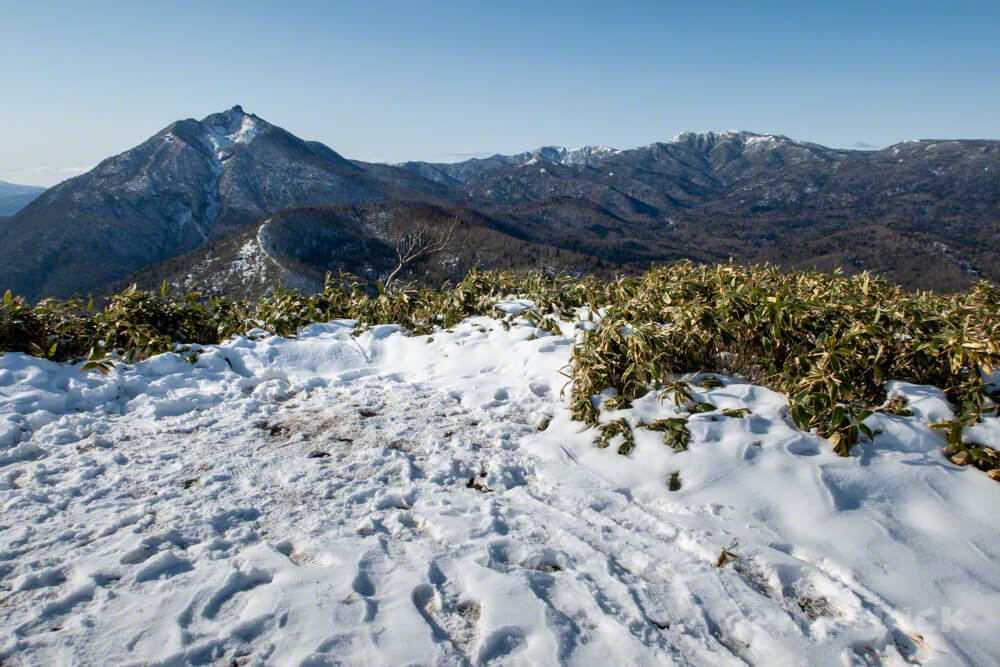 イチャンコッペ山 登山 北海道 785 恵庭岳 漁岳