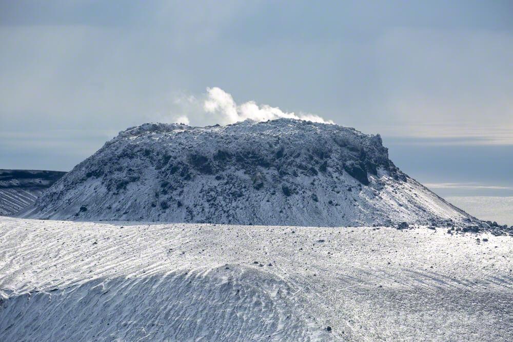 風不死岳 北尾根 北海道 登山 冬山 樽前山 溶岩ドーム