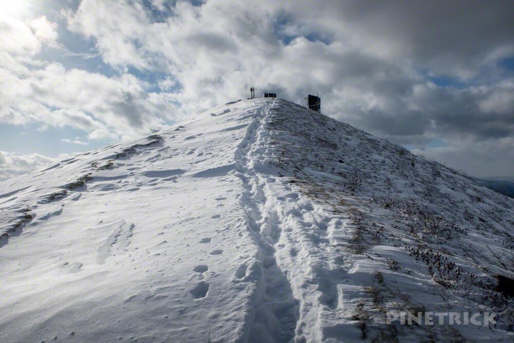 樽前山 北海道 西山 登山 冬山
