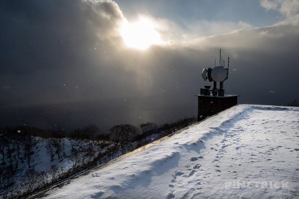 紋別岳 千歳市 支笏湖 山頂 NTT 登山 北海道