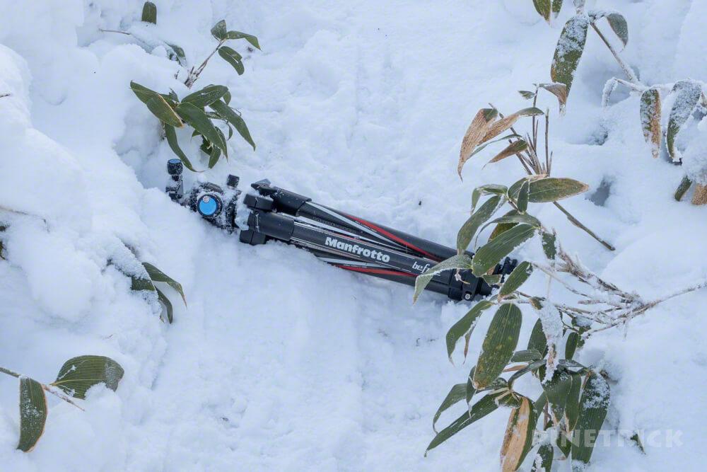 北海道 登山 マンフロット beefree トラベル三脚