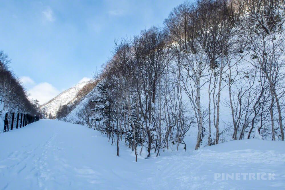 オコタンぺ山 登山 北海道 取付き