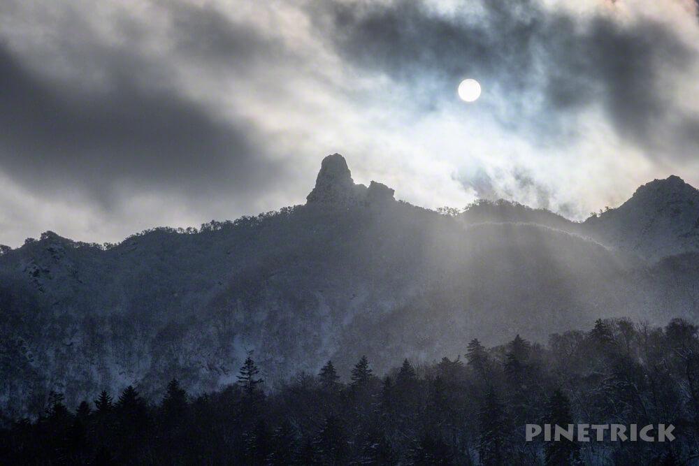 オコタンぺ山 登山 冬山 北海道 恵庭岳