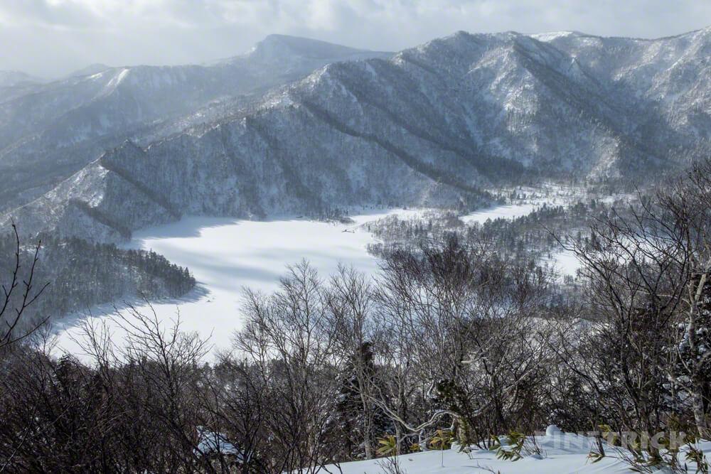 オコタンぺ山 登山 北海道 オコタンぺ湖