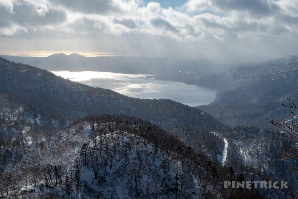 オコタンぺ山 支笏湖 登山