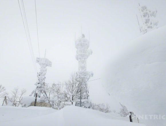 蓬莱山 中山峠 北海道 山スキー 登山 冬山 樹氷