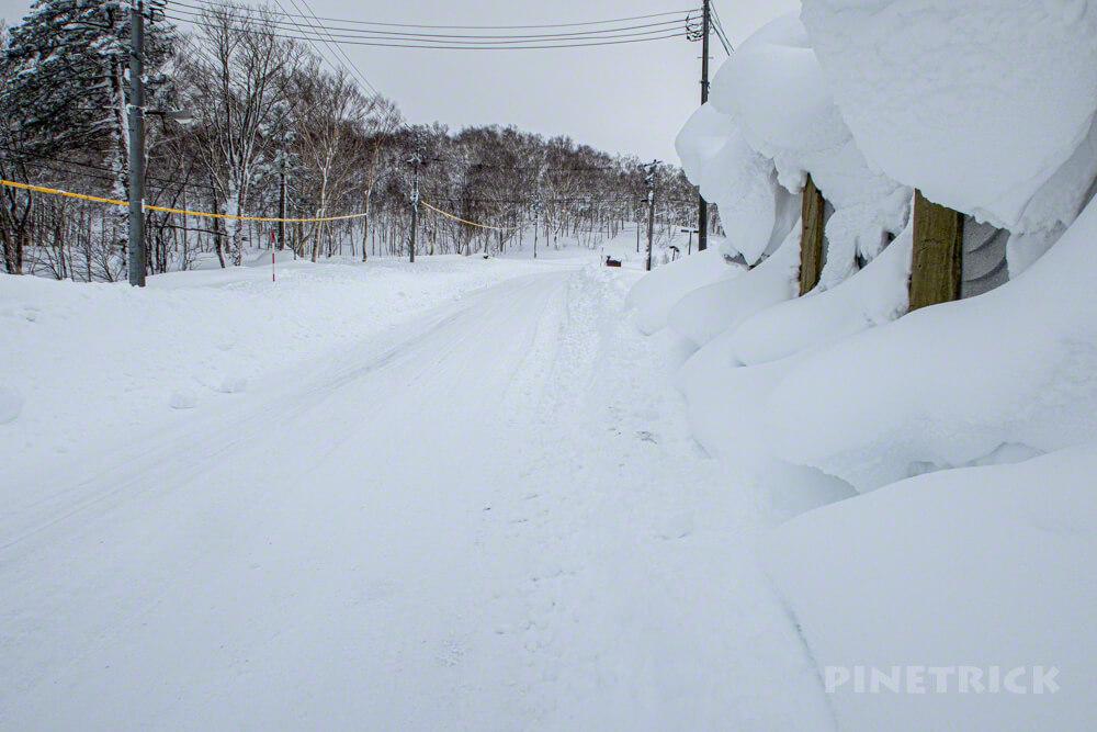 蓬莱山 中山峠 北海道 山スキー 登山 冬山