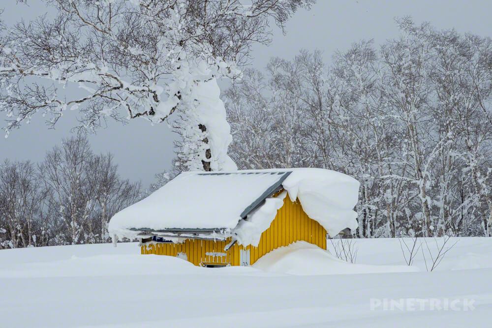 蓬莱山 中山峠 北海道 山スキー 登山 冬山 山頂