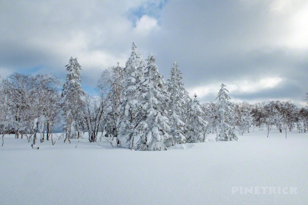 蓬莱山 中山峠 冬山 登山 北海道 モンスター