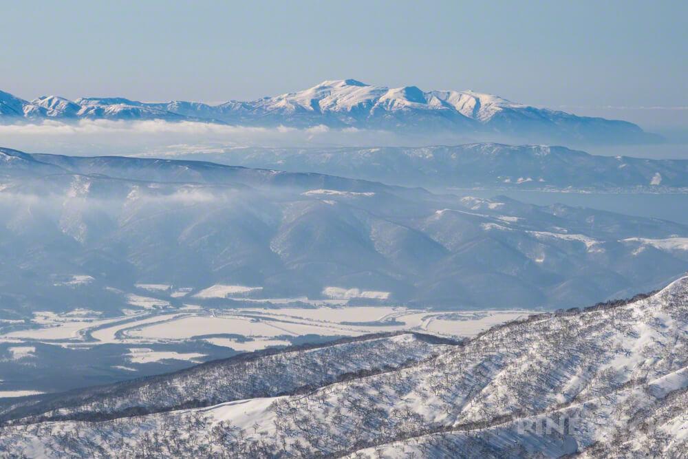 目国内岳 新見温泉 新見峠 北海道 雪山 登山 狩場山
