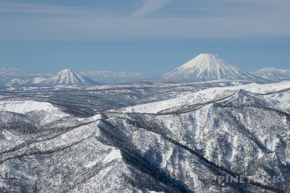 恵庭岳 北海道 登山 冬山 羊蹄山 尻別岳