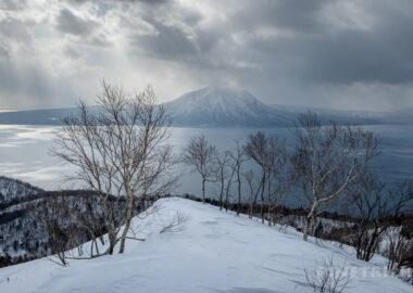 イチャンコッペ山 支笏湖 登山 冬山 風不死岳 樽前山