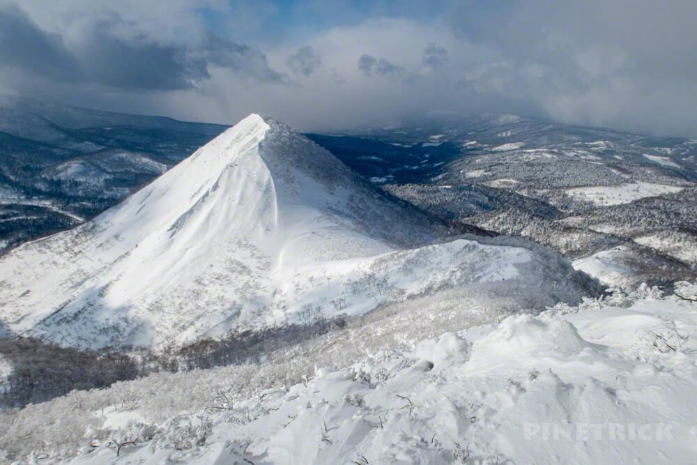 白老岳 南白老岳 登山 北海道 冬山 スノーシュー