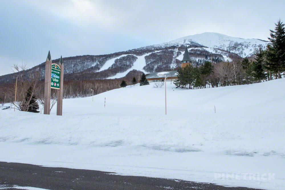 岩内岳 いわないリゾートパークマリンビュー 駐車場 冬季閉鎖 登山 北海道