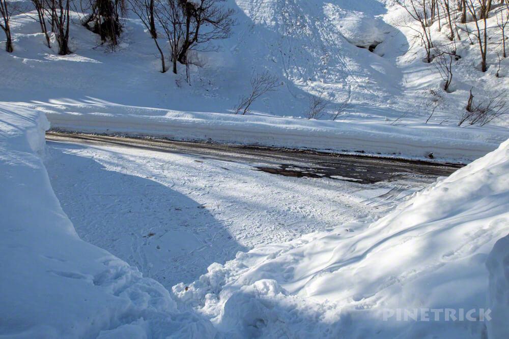無意根山 元山コース 登山 北海道 駐車場