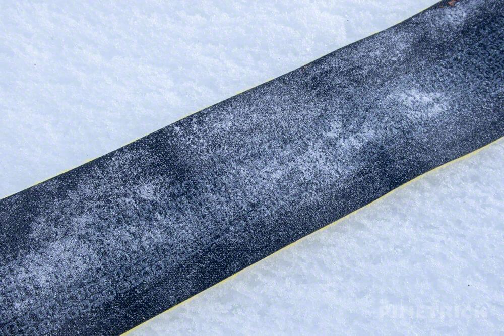 トムラウシ山 山スキー シール 雪まみれ