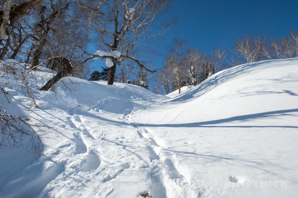 美比内山 登山 北海道