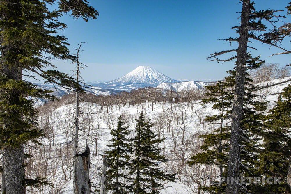 美比内山 羊蹄山 北海道 登山