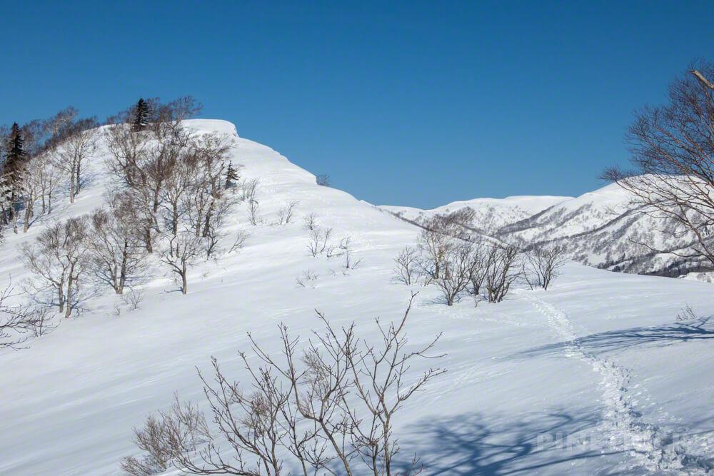 美比内山 登山 北海道 定山渓